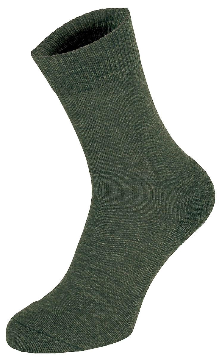 """Socken,  """"Merino"""",  oliv"""